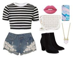 """""""Untitled #37"""" by elo379 ❤ liked on Polyvore featuring Topshop, Billini, Under One Sky, Lime Crime and Belk Silverworks"""