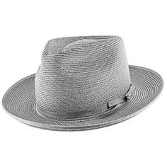 d93b9555d8a Lowest Price on Stratoliner - Stetson Milan Straw Fedora Hat - TSSTROB. Straw  Fedora