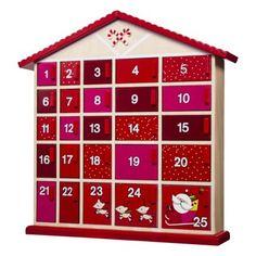 Threshold™ House Advent Calendar - Red