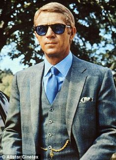 a0fd02f8af Prince of Wales Suit - The definition of cool (Steve McQueen) Ali Macgraw  Steve