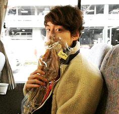 Sakaguchi Kentaro - MEN'S NON-NO blog update
