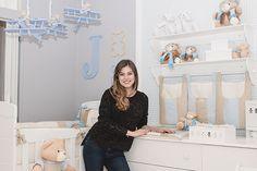 Quarto de bebê com tema ursinho aviador para o filho da atriz Bruna Hamú - Constance Zahn   Babies & Kids