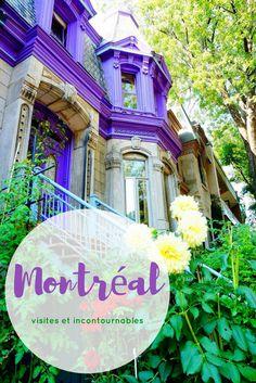 Quoi faire quoi visiter - Montréal #montréal
