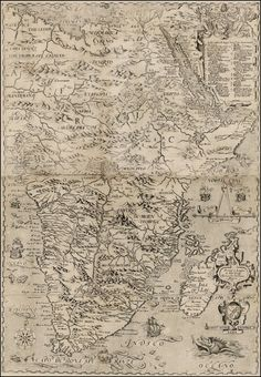 This map of Africa was made in 1598 by John Wolfe.