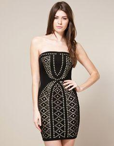 Miso Stud Bandeau Dress    £35.00