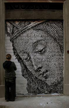Street Art made in Italy, part II: STEN e LEX. Lo stencil. « streetaporter #inspiringart