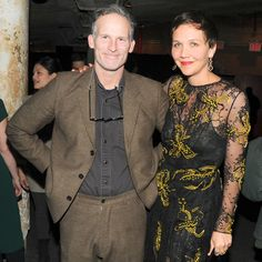 Matthew Barney and Maggie Gyllenhaal celebrate Barney's new film River of Fundament at BAM