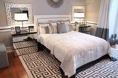 Greek Key Bedroom - Ana Antunes Interior Designer