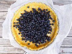 """Sikke Sumari vannoo: """"Tässä on maailman helpoin ja paras mustikkapiirakka! Acai Bowl, Pie, Baking, Fruit, Breakfast, Desserts, Food, Drink, Acai Berry Bowl"""