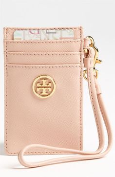 Tory Burch 'Robinson' Card Wristlet available at #Nordstrom