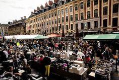 Paris flea markets besides les Puces