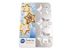 #CakeDecorating #Shop #Wilton #Star #Cookie #Pan mould http://www.mycakedecoratingshop.co.uk/cookie-shop/cookie-modelling/wilton-star-cookie-pan