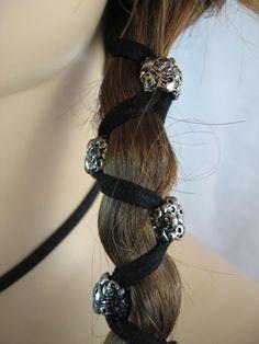 Skull hair wraps