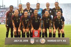 Gallery: WNT Defeats Costa Rica 4-0 to Finish Olympic Sendoff - U.S. Soccer