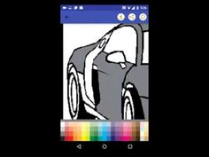 Cars Coloring Book for Kids Android App