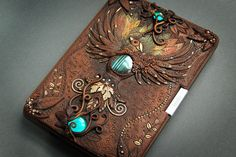 Incredibly detailed journal covers crafted entirely from polymer clay and jewels | Creative Boom