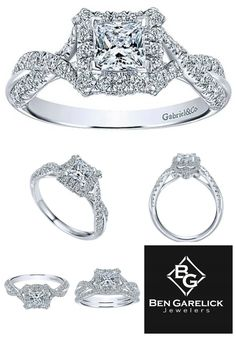 Pre-Set Gabriel Diamond Engagement Ring, Beautiful from Every Angle. See it at Ben Garelick Jewelers and BenGarelick.com