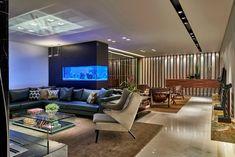 Aquários na decoração - veja dicas e ambientes com essa proposta! - Decor Salteado - Blog de Decoração e Arquitetura
