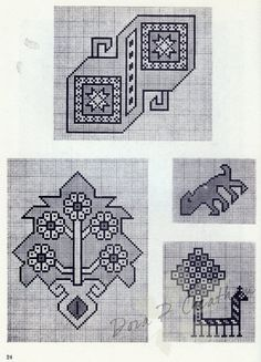 Gallery.ru / Фото #27 - Persian Rug Motifs for Needlepoint - Dora2012 page 24 (24 of 48)