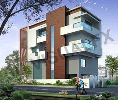 Exteriors - 3d Rendering| 3d Architectural Visualization| 3D Animation Services| Delhi, Noida, Gurgaon. www.3dvfxarch.com