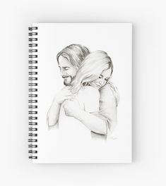 'Christ Hugging Girl ' Spiral Notebook by chelseaargyle Little Girl Drawing, Wallpaper Bible, Jesus Drawings, Bible Clipart, Hardcover Journals, Girl Drawing, Calligraphy Words, Illustration Design, Jesus Sketch