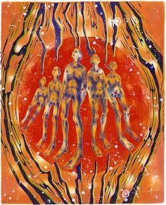 Tone Dietrichson - Klode III, h�ndkolorert (ET) Fine Art, Painting, Kunst, Painting Art, Paintings, Painted Canvas, Drawings, Visual Arts