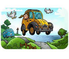 18 best 2cv carte postale images postale voiture - Dessin 2cv humour ...