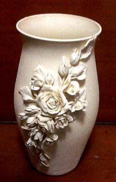 5 Fantastic Ideas Can Change Your Life: Clear Vases Water long vases decor. Clay Vase, Ceramic Vase, Pottery Vase, Ceramic Pottery, Art Nouveau, Cerámica Ideas, Vase Design, Vase Crafts, Wooden Vase