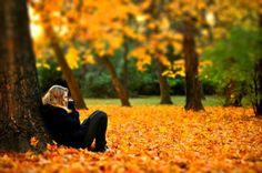 Идеи для осенней фотосессии на природе | Делай Фото