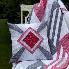 Garnet Pillow Cover by Amy Friend | AURIbuzz