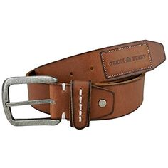 365f79e88 Greenburry Vintage GB4962 Cinturón de cuero Cinturón de cuero real Cinturón  para hombres #Ropa #