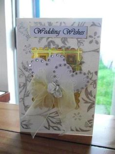 I'm a homemade crafter and this is my contribution to the heart of sharing and inspiring. Wedding Wishes, Wedding Cards, Homemade Cards, Crafts, Handmade, Inspiration, Art, Wedding Ecards, Hand Made