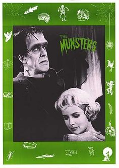 TV poster ( of for Munsters Munsters Tv Show, The Munsters, Munster Family, Herman Munster, Black Sheep Of The Family, Yvonne De Carlo, Female Vampire, Adams Family, Horror Icons