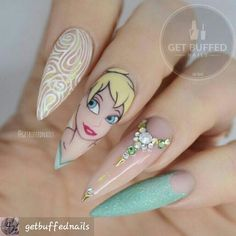 The design are cute. I hate the shape of the nails.