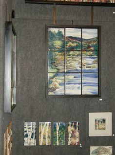 Marsha Van Vlack's tile work can be a wonderful addition to your art collection or an amazing gift. Come to our Studio tour October 18-19 2014 and see so many amazing artists in one weekend. For more information.... www.alleganyartisans.com