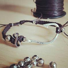 https://m.facebook.com/CreazioniBarbara  Intrecci di speranza ..... Bracciale handmade laccetto Testa di Moro #hope #infinito #speranza #intrecci #brown #bracelet #rainbow  #handmade #fattoamano #creation #madeinitaly #fattoconamore #bracciale #rome #accessories