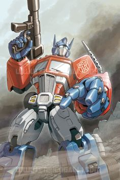 Transformers: Optimus Prime by *EnricoGalli on deviantART