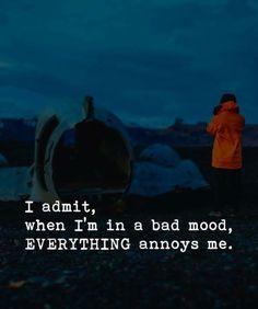 I admit