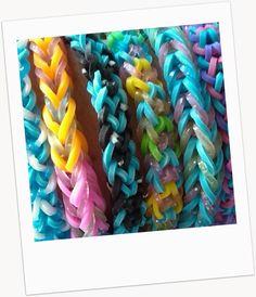Como hacer pulseras con cordones de colores www.comohacerlo.org