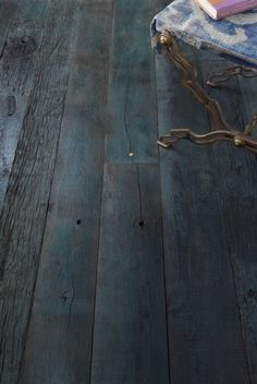 floor color love it amazing indigo reclaimed wood flooring.