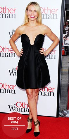 Look of the Day - December 24, 2014 - Cameron Diaz in Stella McCartney from #InStyle