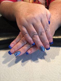 Pretty blue bling #traceysnailslv