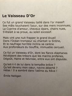 Emile Nelligan - le Vaisseau d'Or Poems, Romantic, Inspiration, Libros, Libraries, Love Life, Authors, Texts, Quote