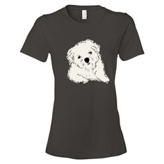 TWIST tee   ladies fit.Find other options at www.boesarts.com. Pet apparel for people.