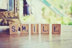 Smile, please