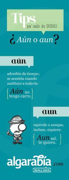 Aún o Aun