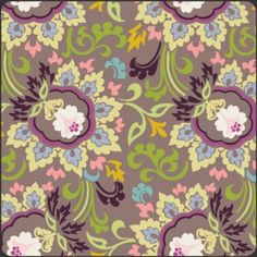 Art Gallery Fabrics :: Paradise :: Taupe Double Bloom