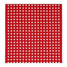 "HILDIS fabric, red, white Width: 59 "" Pattern repeat: 3 "" Width: 150 cm Pattern repeat: 8 cm"