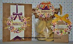 Stampin' Up! Wonderous Wreath stamp set creation by Trude Thoman http://stampwithtrude.blogspot.com