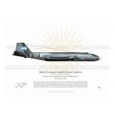 B.Mk 62 CANBERRA B-109 Argentina JP-483 Harley Davidson Online Store, Air Force, Aviation, Argentina, Aircraft